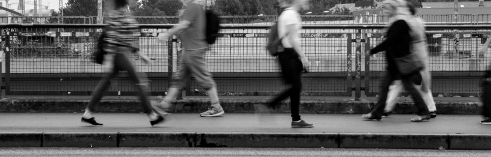 Fußgänger - Transferagenturen