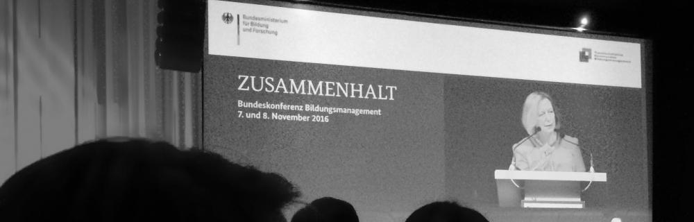 Bundeskonferenz des BMBF 2016