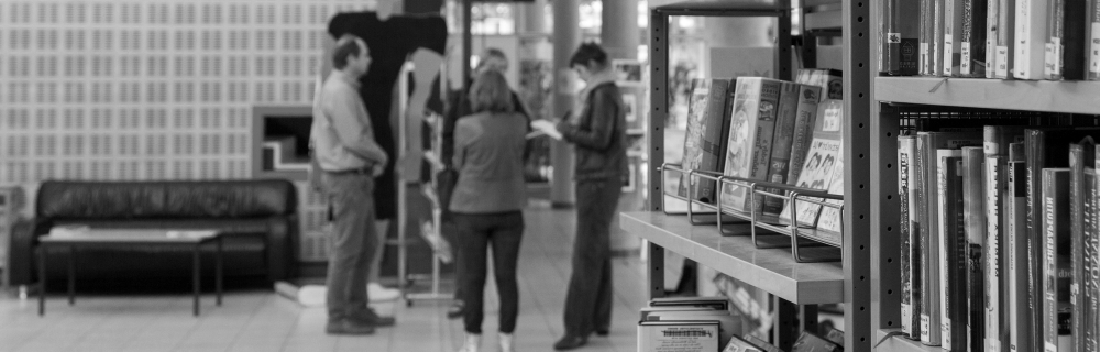 Regalflucht Bibliothek Bremen Gröpelingen
