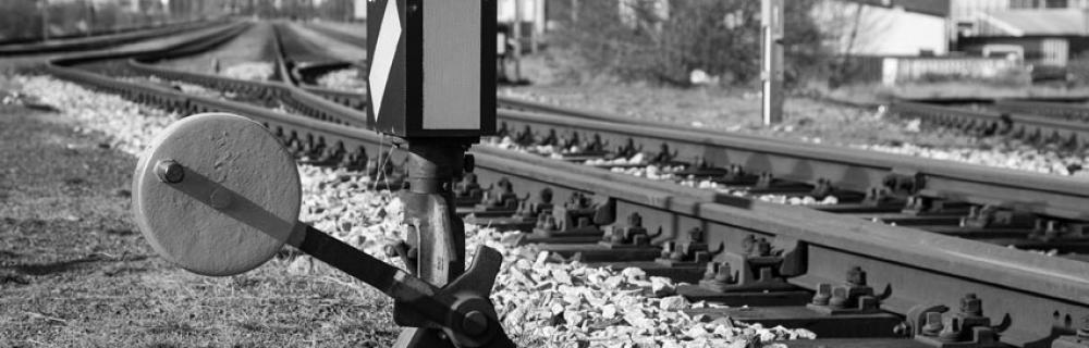 Bahnweiche