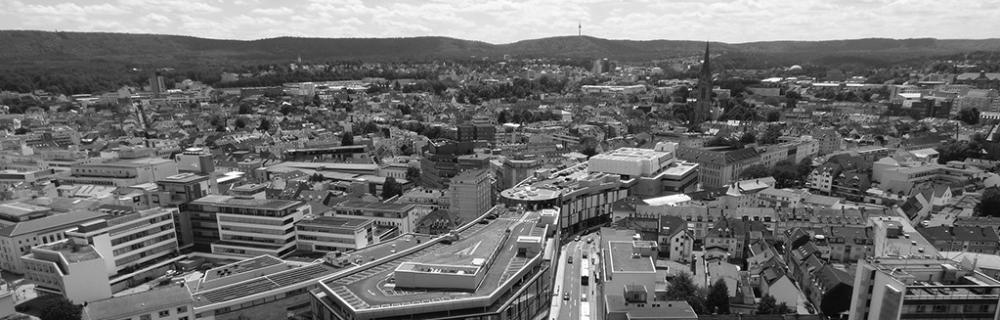 Blick auf Kaiserslautern