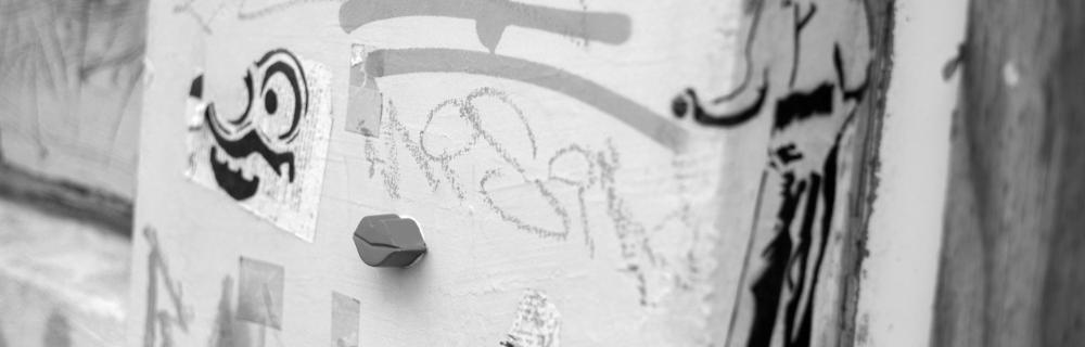 Graffiti an Hauswand