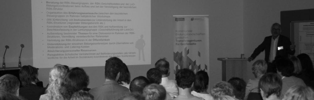 """Vortrag zum Thema """"Der Nutzen für die Akteure vor Ort"""""""
