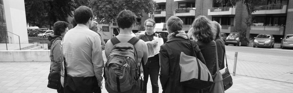 Gemeinsames Zusammenkommen der Teilnehmenden beim Kommunalsalon in Hamburg
