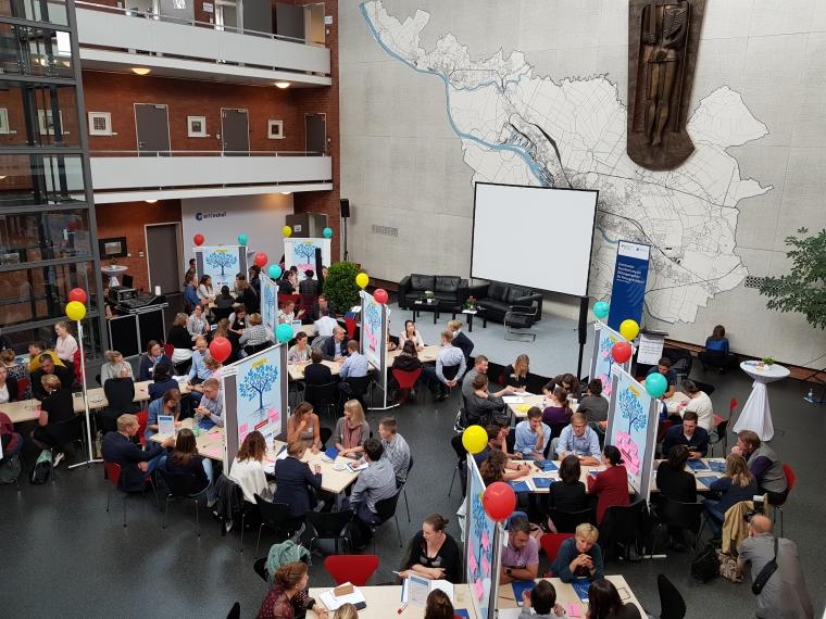 Blick in die Arbeitsphase der regionalen Fachveranstaltung Bildungkoordinatoren in Bremen