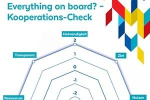 Netzdiagramm Kooperationscheck